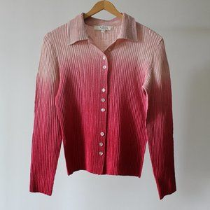 Ombre Pink Blouse
